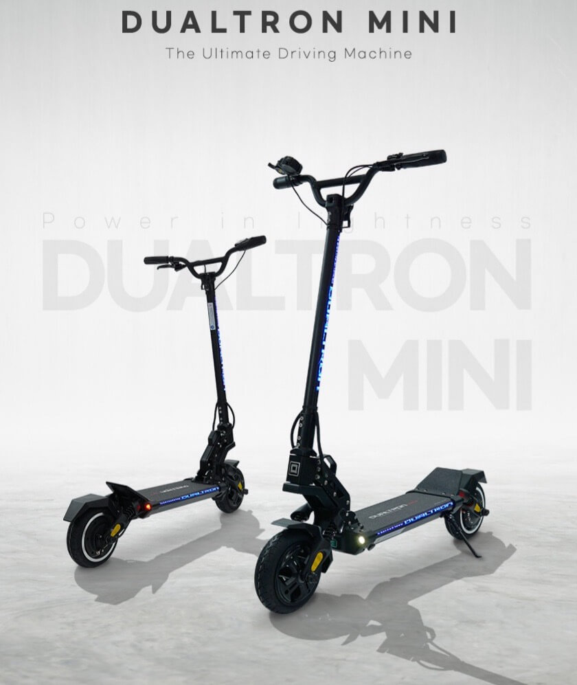 Minimotors All New Dualtron Mini Best light-weight scooter ever!